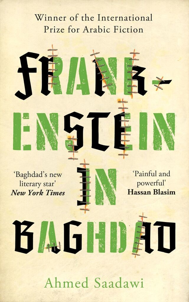 Large ahmed saadawi frankenstein in baghdad
