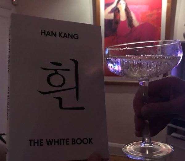 Medium glass and book www