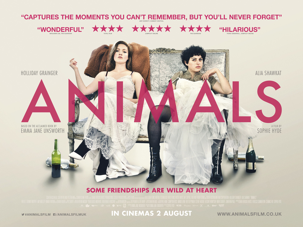 Large animals quad in cinemas 2 aug