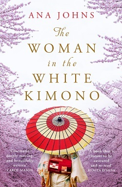 Large the woman in the white kimono  250