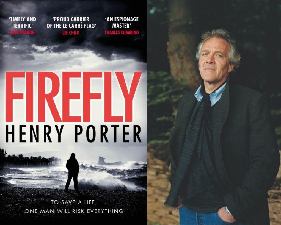 Large henry porter jacket and headshot