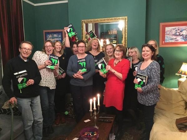 Medium gloucester books club with books