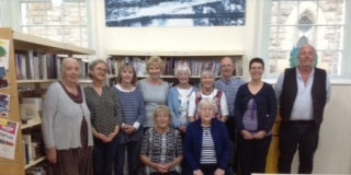 Medium llangollen library reading group