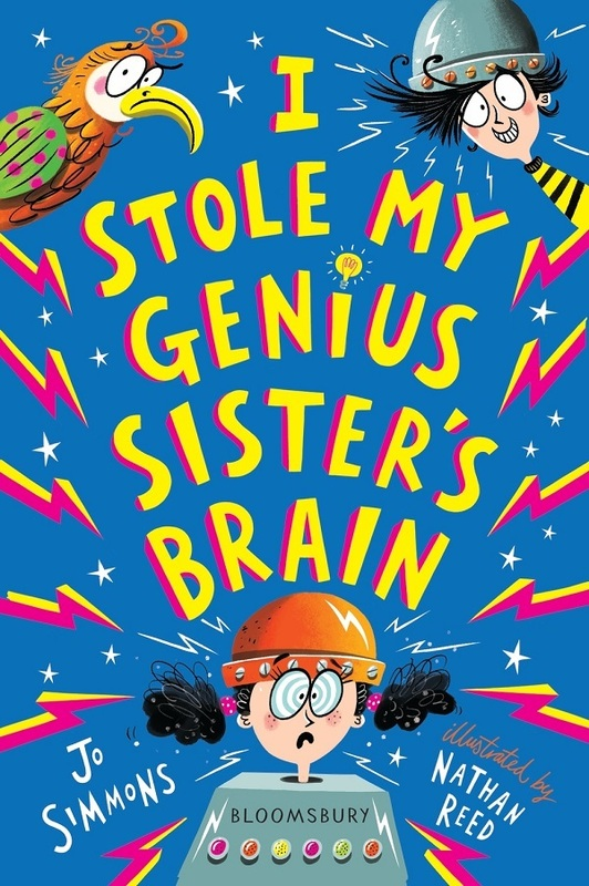 I Stole My Genius Sister's Brain Competition - Win a set of books!
