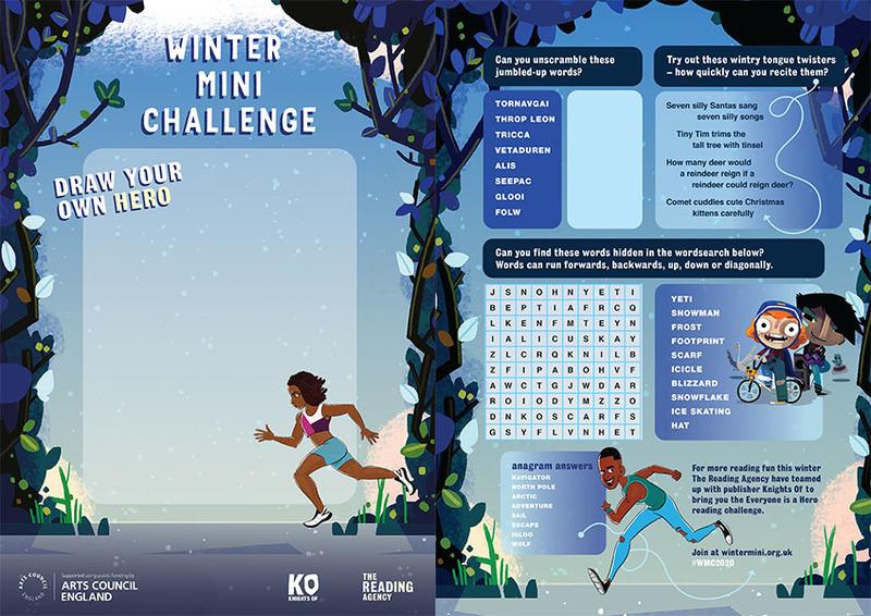 Mini Challenge activities to enjoy this winter
