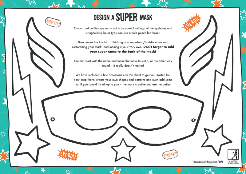 Design a SUPER Mask and win amazing prizes!