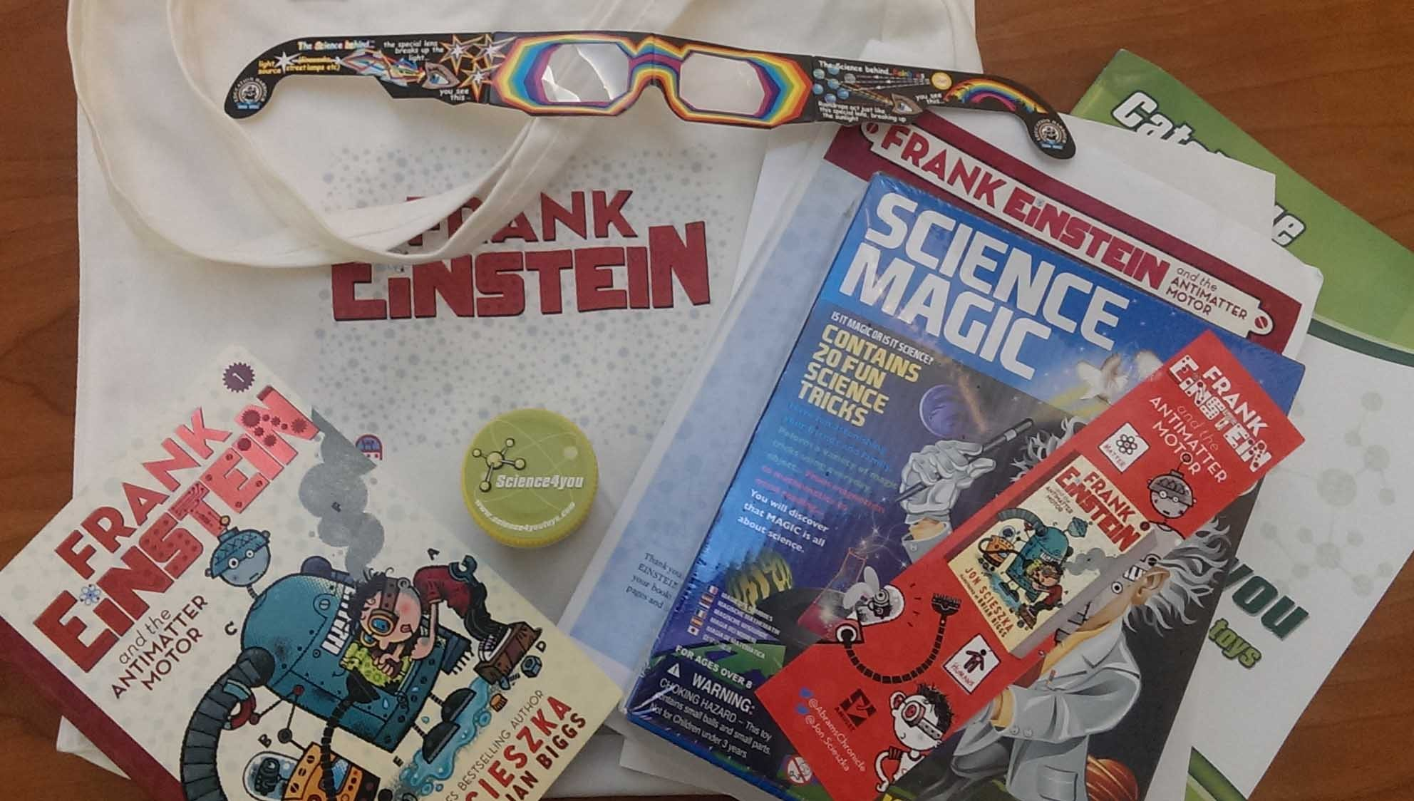 Win a signed copy of frank einstein and the antimatter for Frank einstein and the antimatter motor