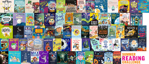 Find your next Summer Reading Challenge read! image