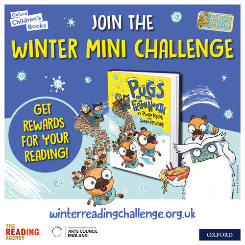 Enjoy sled-loads of fun with the Winter Mini Challenge! image