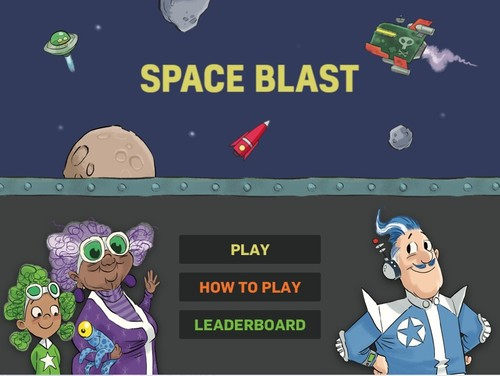 Play Space Blast image