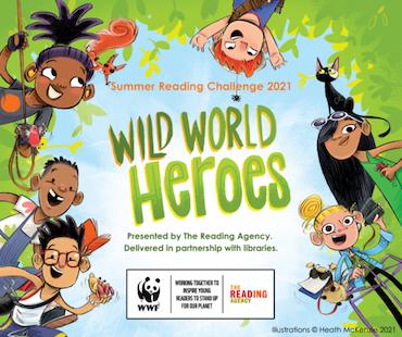 Introducing...Wild World Heroes! image