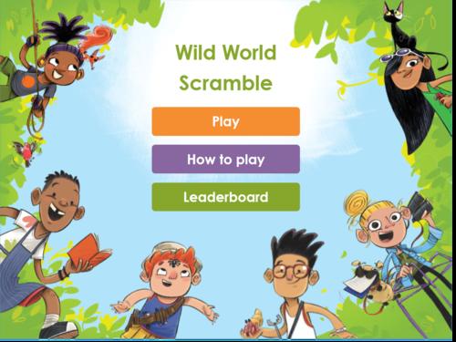 Play Wild World Scramble