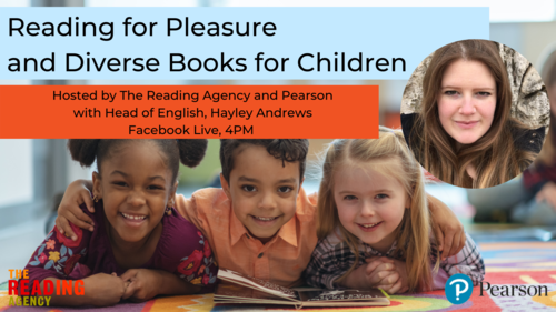 Upcoming event: Reading for Pleasure and Diverse Books for Children image