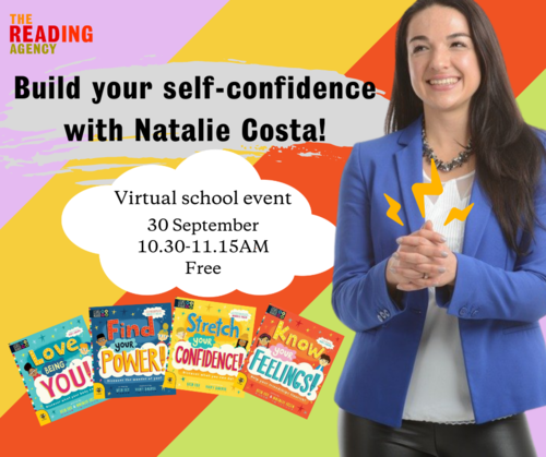 Free schools event: Build your self-confidence with Natalie Costa! image