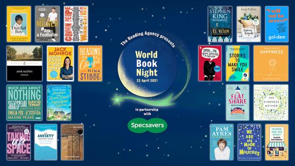 World Book Night book list