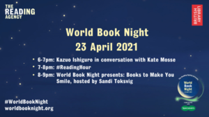 Spend your World Book Night with us