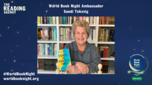 Sandi Toksvig Revealed as Lead Ambassador for World Book Night's 10th Anniversary