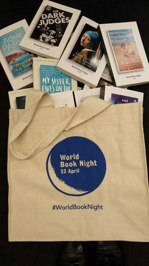 Win a bag of World Book Night goodies!