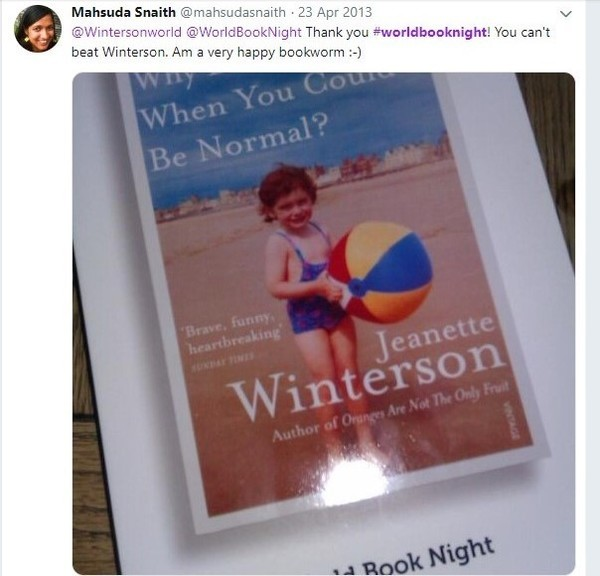 Medium world book night tweet