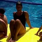 Sandra Gonzalez, Profesora de natación en Barcelona