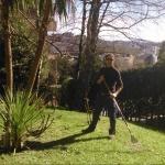 Ibon Urra, Jardinero en Oiartzun