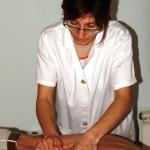 Elena Selva Sansa, Fisioterapeuta en Centelles
