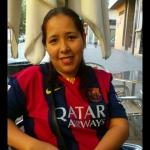 Ingri Suarez gongora, Empleada de hogar en Catarroja