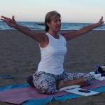 María José López Montañez, Profesora de yoga en Málaga