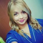 Kelly Rios Santa, Auxiliar de enfermeria en Córdoba