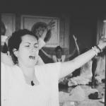 Montserrat Noguera, Profesora de yoga en Calamocha