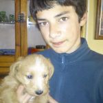 Daniel Sauras, Paseador de perros en Zaragoza