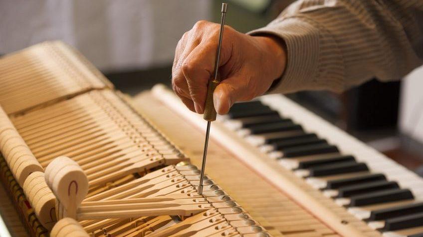 afinar piano