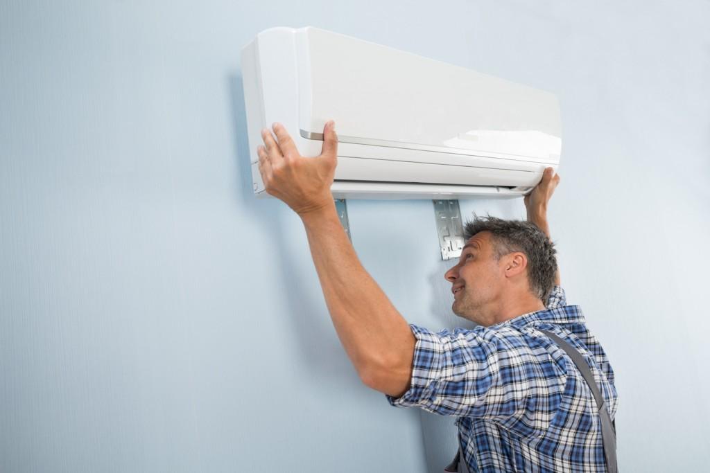 Instalador de aire acondicionado, Instalación de aire acondicionado