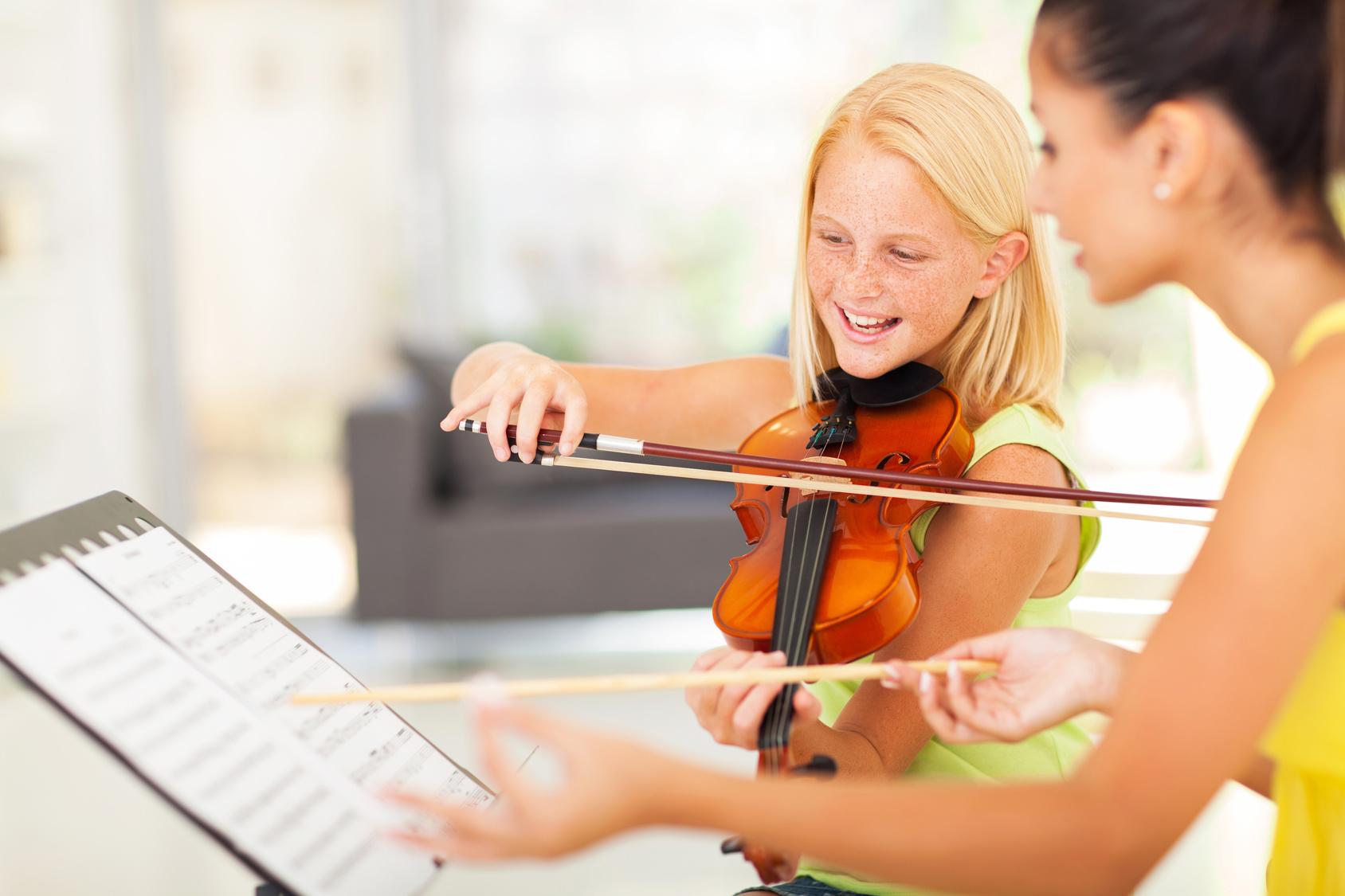 Profesor de violín