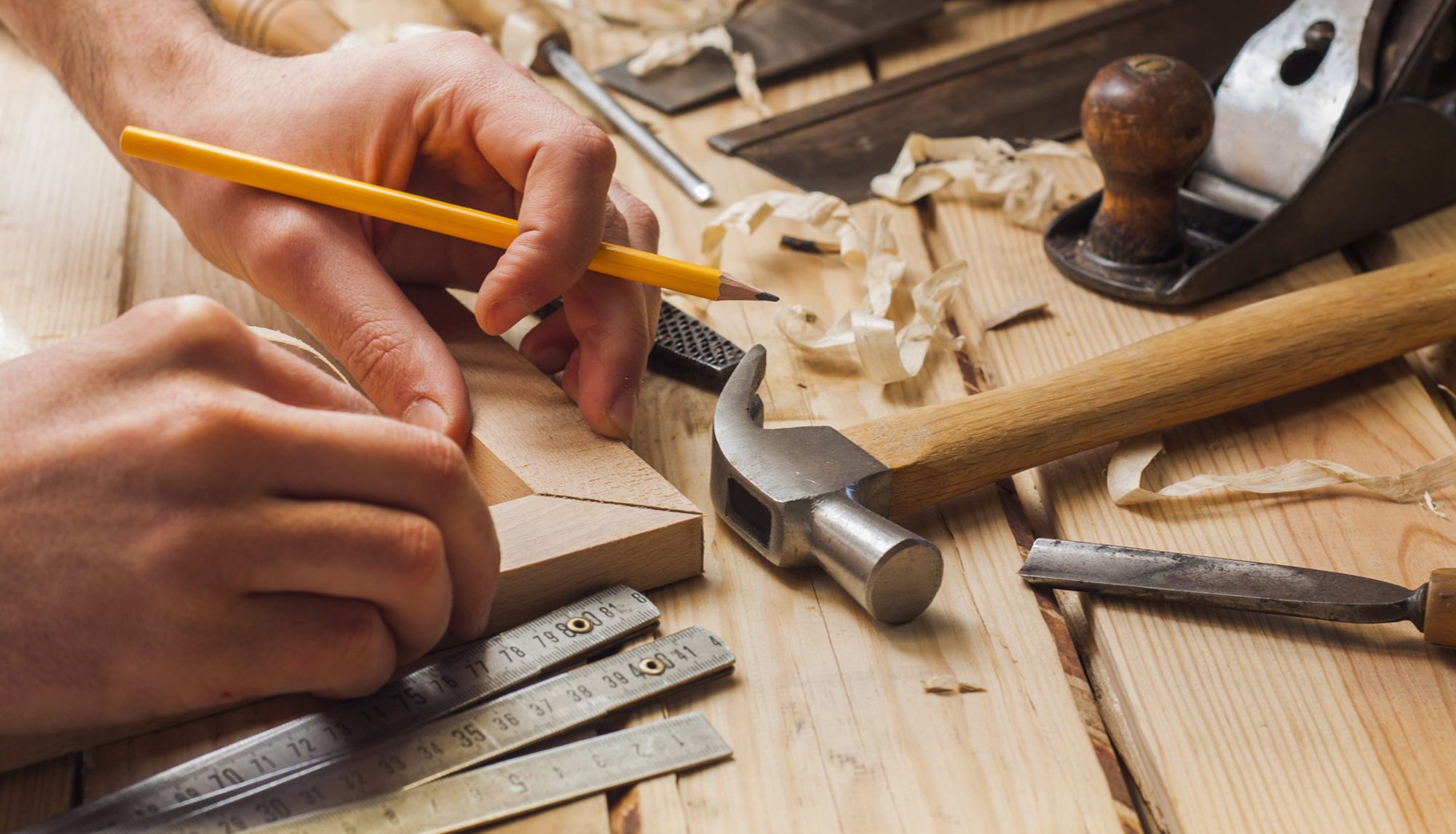 Carpintero de madera, Carpintería para barandillas de madera