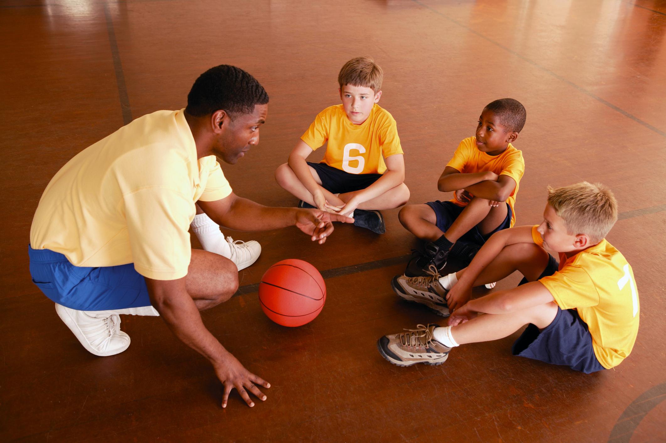 Entrenador de baloncesto, Entrenamiento de baloncesto