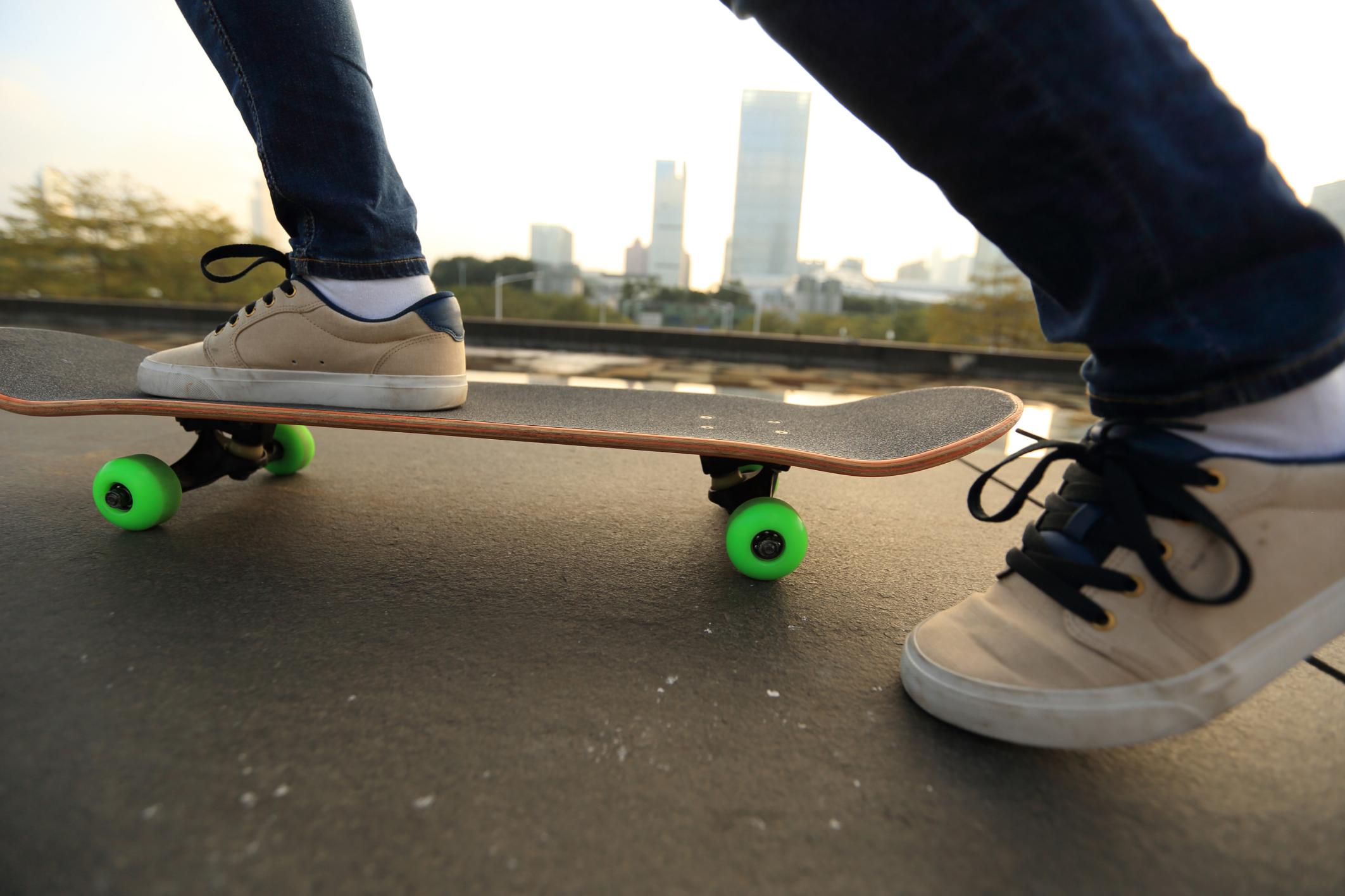 Profesor de skateboard