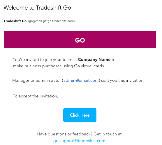 HSBC Tradeshift Invoicing