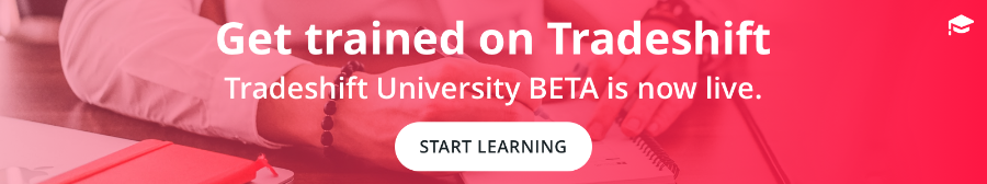 Tradeshift University Beta