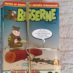 Basserne tegneserier. 25 stk. Kan hentes - København - Basserne tegneserier. 25 stk. Kan hentes på Amager eller sendes mod betaling. Kig endelig forbi mine andre annoncer, har masser af tøj, sko og legetøj til børn og unge. - København