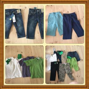 Børnetøj fra United colors of benetton - Fredericia - Børnetøj fra United colors of benetton. Der er lidt drengetøj i str 66-74 og meste pigetøj i str 66-74. Der er også nogle bukser i str 1 år. Alt tøjet er helt nyt og koste 50kr stykket uanset før pris. Noget af det koster 299. - Fredericia