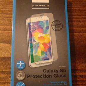Panserglas til Samsung Galaxy S5 fra Viv - København - Panserglas til Samsung Galaxy S5 fra Vivanco. Har fem styk til salg. - København