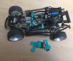 Ældre Technic lego bil. Sælges som på - Billund - Ældre Technic lego bil. Sælges som på billedet. 200kr - Billund