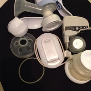 Avent elektronisk brystpumpe.. Kun brugt - København - Avent elektronisk brystpumpe.. Kun brugt få gange, fungerer upåklageligt... både som elektrisk (i stikkontakt), tag den elektrisk med på farten via medfølgende strømkilde der kan oplades... eller som helt almindelig manuel