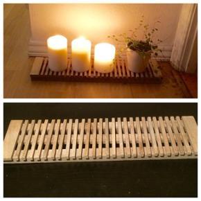 ПŒ¸Træplade til dekoration sælges🌸 - Aalborg  - ПŒ¸Træplade til dekoration sælges🌸 (Øverste billede er til inspiration- lys og plante sælges ikke.) Længde: 48 cm. Bredde: 12 cm Afhentes i Hjallerup (eller evt. Randers). - Aalborg