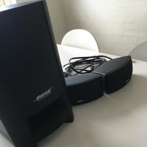 Bose højtaler sæt inkl. Brugsanvisning - Randers - Bose højtaler sæt inkl. Brugsanvisning og ophæng til små højtalere. - Randers