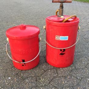 Brandspand/brandsprøjte - Bramming - Brandspand/brandsprøjte - Bramming