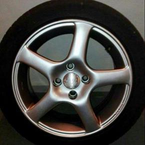 Alu fælge m Michelin dæk .195/50 R15 1 - Odense - Alu fælge m Michelin dæk .195/50 R15 15 tømmer Krydsmål 100 - Odense