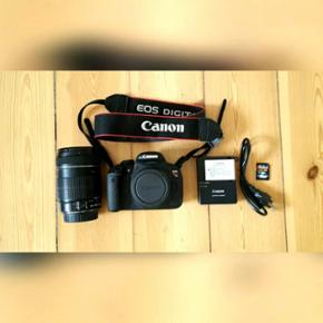 3.Selling Canon EOS Rebel T5i with touch - Århus - 3.Selling Canon EOS Rebel T5i with touch screen + canon 18-135mm f. 3.5 lens + battery + battery charger + 16gb SD card - Århus