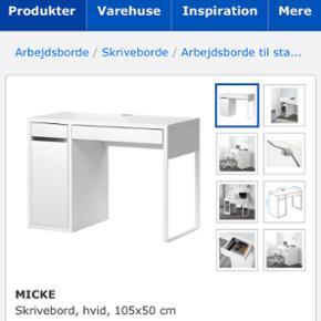 IKEA Skrivebord. Har haft det i 2 år, m - Roskilde - IKEA Skrivebord. Har haft det i 2 år, men har været på efterskole det ene, så bordet er næsten ubrugt. Er villig til at gå lidt ned i pris - Roskilde